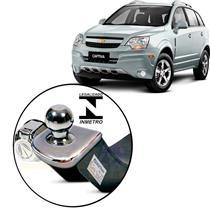 Engate Reboque Engetran Homologado Inmetro Chevrolet Captiva Sport 2.4 / 3.6 V6 2008 a 2014