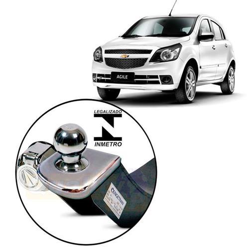Engate Reboque Engetran Homologado Inmetro Chevrolet Agile LT e LTZ 2009 a 2013