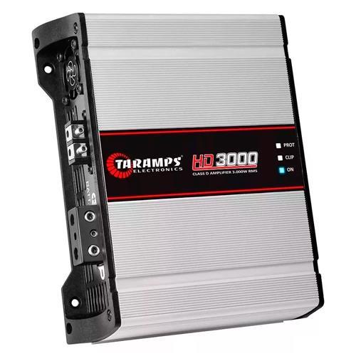 Amplificador Digital Taramps Hd 3000 1 Canal 1x3000W RMS 2 Ohms