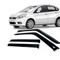 Calha Defletor de Chuva Fiat Grand Siena 12/15 4Portas Tg poli 5 Anos Garantia