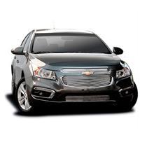 Sobre Grade Chevrolet Novo Cruze 2015 e 2016 Hatch e Sedan Inox Cromada