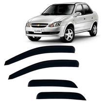 Calha Defletor de Chuva Gm Corsa Hatch/Wagon/Sedan e Classic 94/15 4pts Tgpoli 5 Anos Garantia