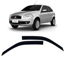 Calha Defletor de Chuva Fiat Palio 96/11 e Fire 12/15 Strada tds 96/15 2pts Tg poli 5 Anos Garantia