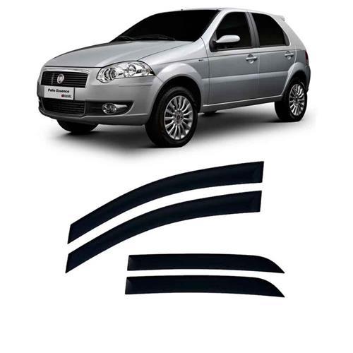 Calha defletor de Chuva Fiat Palio, Weekend e Siena 96/11 Fire 12/15 4portas Tg poli 5 Anos Garantia