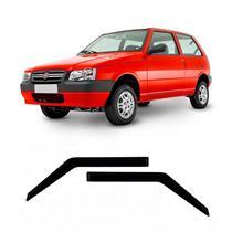 Calha Defletor de Chuva Fiat Uno Premio Elba 1985 a 2011 e Mille 2012 e 2013 2 Portas Tg Poli