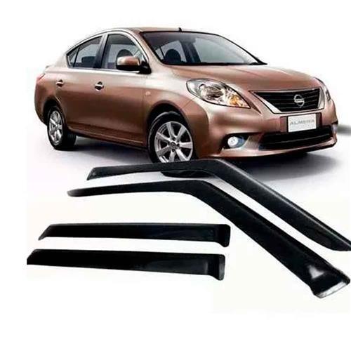 Calha Defletor de Chuva Nissan Versa 11/15 4Portas Tg poli 5 Anos Garantia