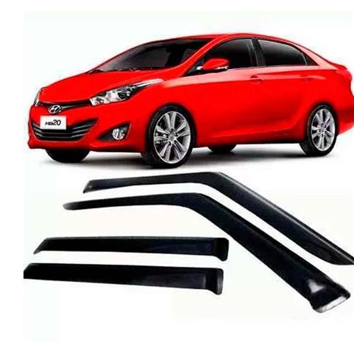 Calha Defletor de Chuva Hyundai HB20S Sedan 13/18 4Portas Tg poli 5 Anos Garantia