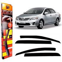 Calha Defletor de Chuva Toyota Corolla Sedan 08/14 4Portas Tg poli 5 Anos Garantia