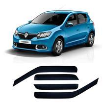 Calha Defletor de Chuva Renault Sandero 15/ 4Portas Tg poli 5 Anos Garantia