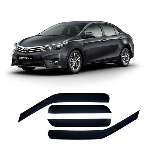 Calha Defletor de Chuva Toyota Corolla Sedan 15/ 4Portas Tg poli 5 Anos Garantia
