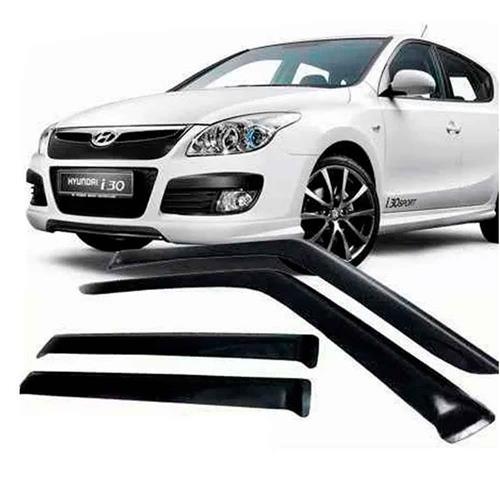 Calha Defletor de Chuva Hyundai i30 Hatch 2009 a 2012 4 Portas Tg Poli