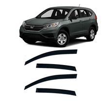 Calha Defletor de Chuva Honda Crv 12/15 4Portas Tg poli 5 Anos Garantia