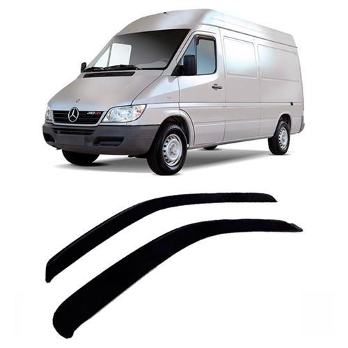 Calha Defletor de Chuva Renault Master  02/15 Iveco Daily 08/15 Sprinter Nova 12/15 2Portas Tg poli