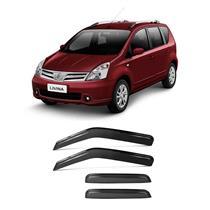 Calha Defletor de Chuva Nissan Livina e Grand Livina 09/15 4Portas Tg poli 5 Anos Garantia