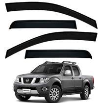 Calha Defletor de Chuva Nissan Frontier 08/15 4 Portas Tg Poli 5 Anos Garantia