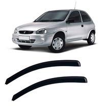 Calha Defletor De Chuva Corsa Hatch 1994 a 2001 e Pick-Up Corsa 1994 a 2003 2 Portas