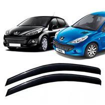 Calha Defletor de Chuva Peugeot 206 207 Hatch 01/13 2Portas Tg poli 5 Anos Garantia
