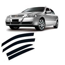 Calha Defletor De Chuva Astra Sedan 1999 a 2011 E Hatch 2003 a 2011 4 Portas