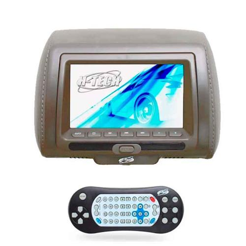 Encosto Cabeça Cinza Leitor Dvd USB Sem Ziper Tela 7 H-Tech