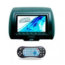 Encosto Cabeça Grafite Leitor Dvd USB Sem Ziper Tela 7 H-Tech