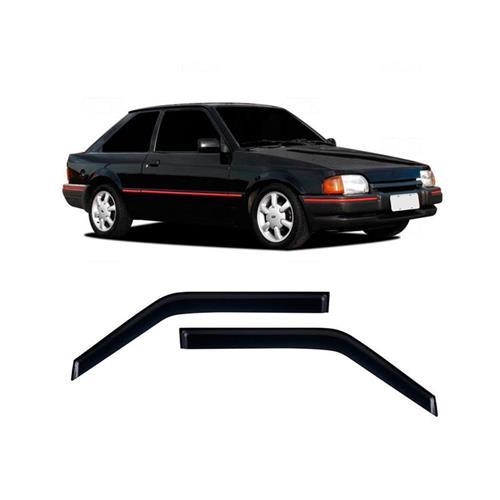 Calha Defletor de Chuva Ford Escort Hobby 84/96 2Portas Tg poli 5 Anos Garantia