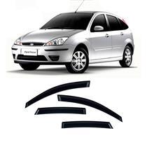 Calha Defletor de Chuva Ford Focus Hatch Sedan 02/09 Modelo Antigo 4Portas Tg poli 5 Anos Garantia