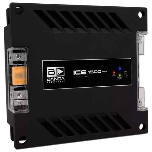 Módulo Amplificador de Som Banda Ice1502 1 Canal 1500W RMS 2 Ohms