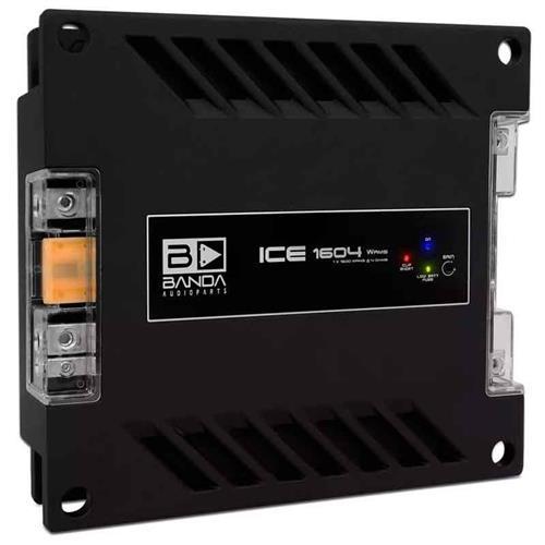 Módulo Amplificador de Som Banda Ice1604 1 Canal 1600W RMS 4 Ohms