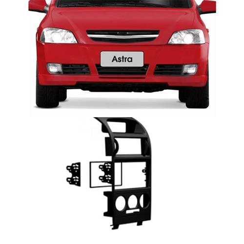 Moldura de Painel AutoPlast AP770 Para Dvd 2 Din Astra Hatch Sedan Ar Cond Analógico