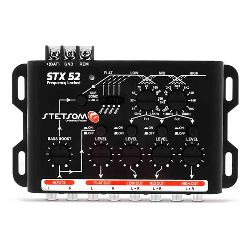 Crossover Mesa Stetsom STX52 4 Canais Frequency Locked Mono ou Stereo