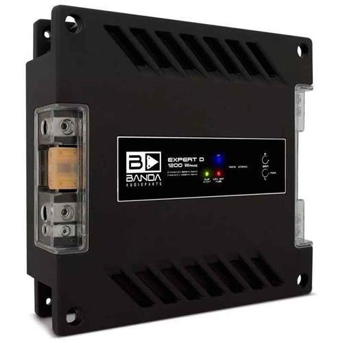 Módulo Amplificador de Som Banda Expert 1202 2 Canais 1200W RMS 2 Ohms