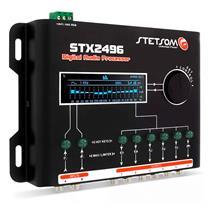 Processador Stetsom STX2496 Equalizador Digital 15 Bandas Automotivo