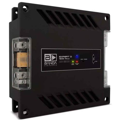 Módulo Amplificador de Som Banda Expert 1204 2 Canais 1200W RMS 4 Ohms
