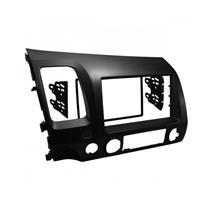 Moldura de Painel AutoPlast AP758 Para Dvd 2 Din New Civic 06 a 11 Grafite