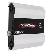 Módulo Amplificador de Som Automotivo SOUNDIGITAL SD2500.1D 2 OHMS