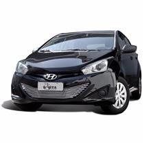 Sobre Grade Darta Hyundai HB20 2012 a 2015 Horizontal Completa 1 Peça Inox