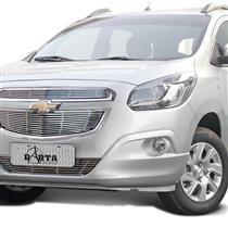 Sobre Grade Darta Chevrolet Spin 2012 a 2015 Horizontal 3 Peças Inox