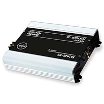 Módulo Amplificador de Som Boog D 2K5 1 Canal  2500W RMS 2 Ohms