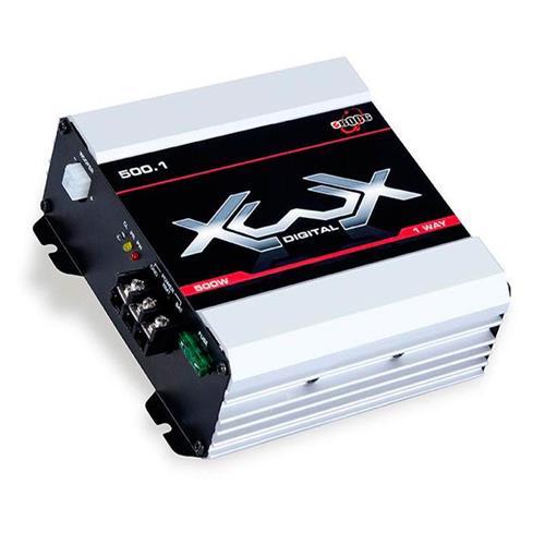 Módulo Amplificador de Som Boog Xwx 500.1 1 Canal  500W RMS 2 Ohms