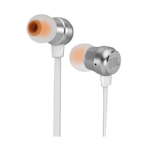 Fone de Ouvido JBL T280A In Ear Talk Prata IOS e Android
