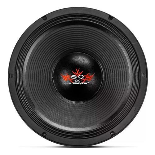 Alto Falante Woofer Ultravox Sound Quality 1200 15 Pol 1200W Rms 4 Ohms Carcaça Aluminio