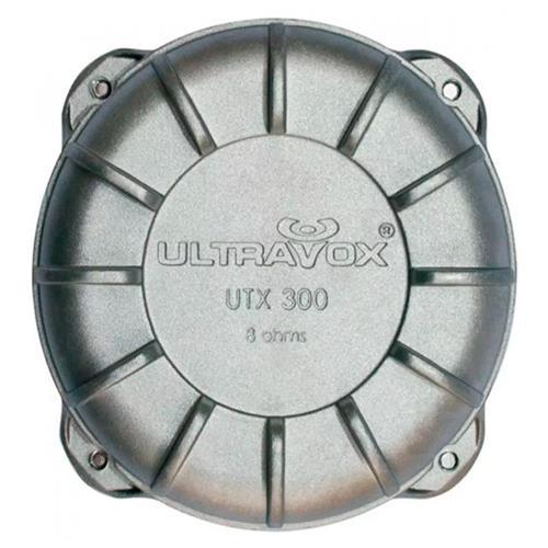 Driver Ultravox Utx300 150W RMS 8 Ohms Carcaça Aluminio
