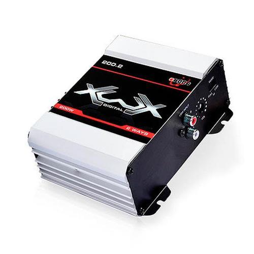 Módulo Amplificador de Som Boog Xwx 200.2  2 Canais 200W RMS 2 Ohms