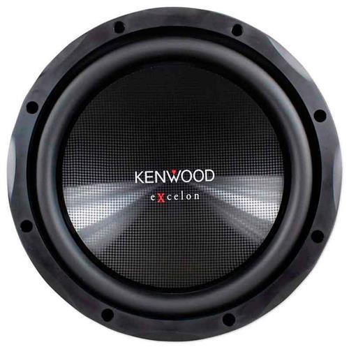 Alto Falante Subwoofer Kenwood 12 Pol Excelon 400W RMS 4 Ohms