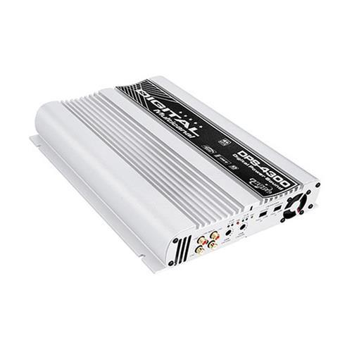 Módulo Amplificador de Som Boog DPS4300 4 Canais 1200W RMS 2 Ohms