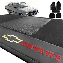 Jogo de Tapetes Bordado HITTO Completo GM Chevette 1974 a 1995