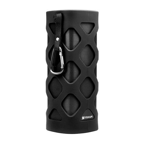 Caixa Acústica Com Bluetooth Emborrachada Preta Frahm PX 120