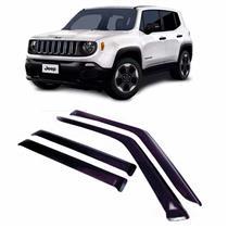 Calha Defletor de Chuva Jeep Renegade 15/16 4Portas Tg poli 5 Anos Garantia
