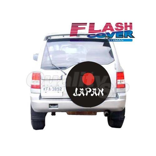 Capa De Estepe Flash Cover Estampada Com Cadeado Pajero Full AC197C