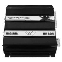 Módulo Amplificador Corzus HF804 800W RMS 2 Ohms 4 Canais Digitais